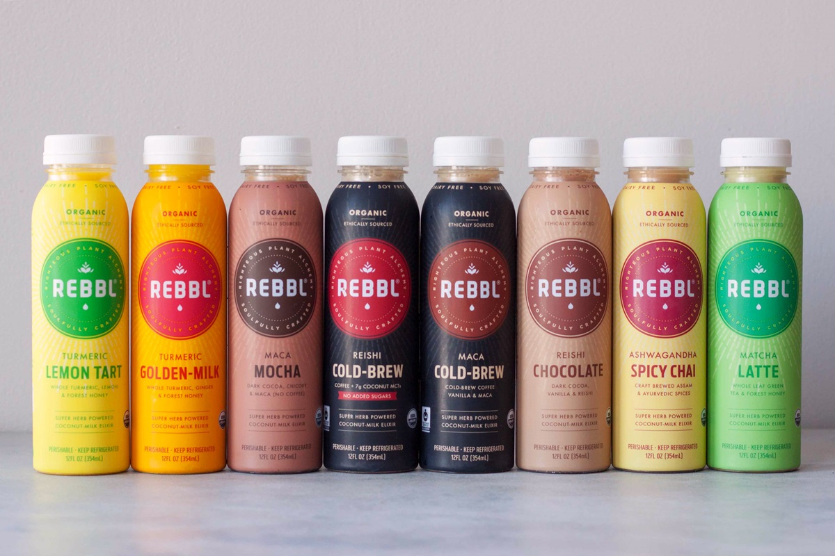 REBBL Elixirs Review (all 8 flavors) - Super Herb Powered Dairy-Free, Soy-Free Coconut Milk Beverages (vegan options)
