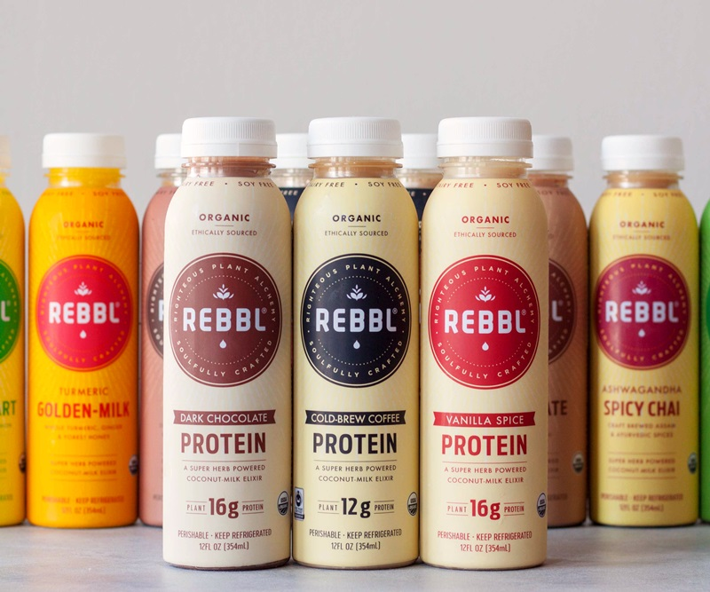REBBL Protein Elixirs (Review): Creamy Coconut Milk Drinks