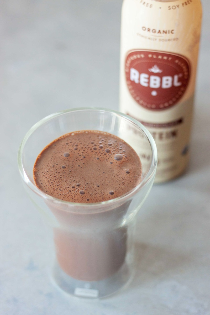 REBBL Protein Elixirs Review - Creamy, Dairy-Free and Vegan Coconut Milk Beverages in Chocolate, Vanilla Spice & Cold Brew Flavors