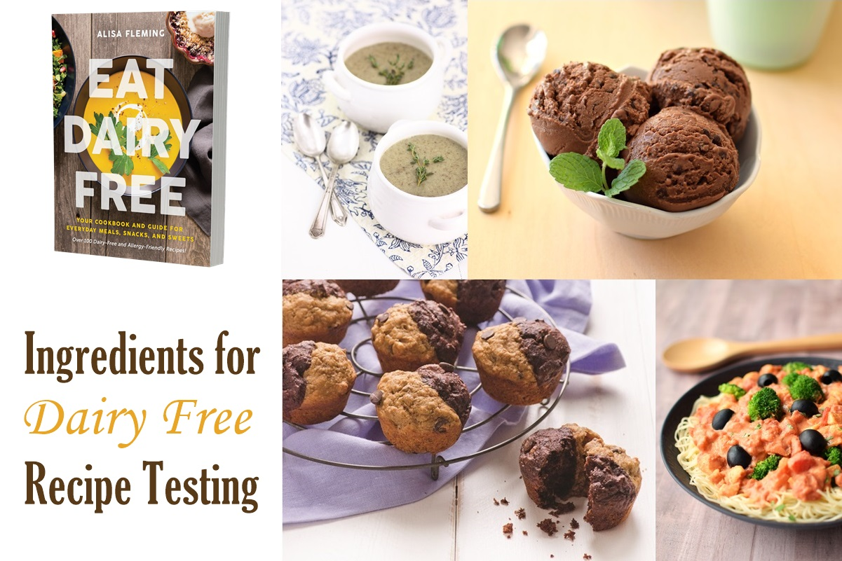 Eat Dairy Free Book Resources - The Big List of Products and Brands from the Dairy-Free Kitchen