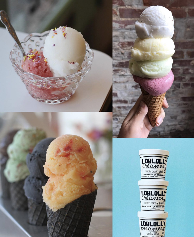 Loblolly Creamery is scooping up dairy-free & vegan ice cream and sorbets made in small batches in Little Rock, AR!