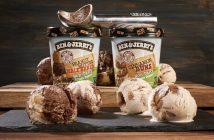 Ben & Jerry's New Non-Dairy Pints for 2018 - Cinnamon Buns and Peanut Butter Half Baked