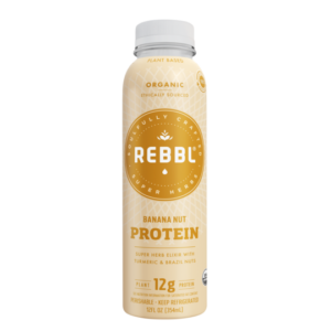 REBBL Protein Elixirs Review - Creamy, Dairy-Free and Vegan Coconut Milk Beverages in Chocolate, Vanilla Spice, Banana Nut, Hazelnut Chocolate, & Cold Brew Flavors