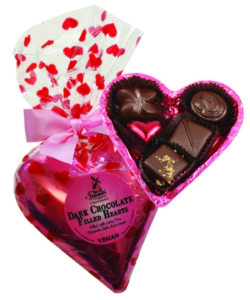 Guide to the Best Dairy-Free Valentine Chocolate: Over 20 Chocolatiers with Vegan, Gluten-Free, Food Allergy-Friendly, Organic, Fair Trade and more! Pictured: Sjaak's