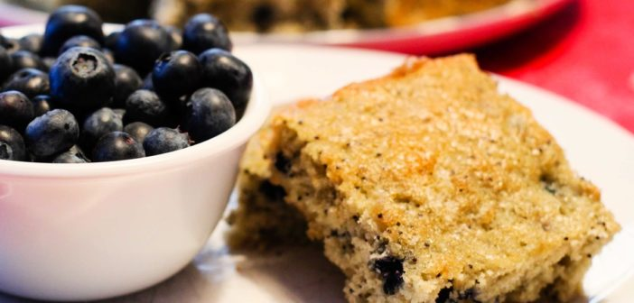 Blueberry Muffin Bars