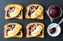 Cherry Chia Jam Recipe and the Best Dairy-Free, Gluten-Free Breakfast Toast