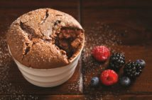 Dark Chocolate Souffle Recipe - A dairy-free, gluten-free dessert recipe that rises to any occasion