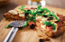 Veggie Pizza Focaccia Bread Recipe - Naturally healthy, dairy-free, vegan and cheese-free!