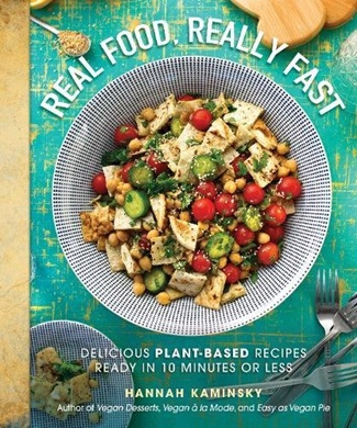 Vegan Hashbrown Waffles Recipe from the plant-based cookbook Real Food, Really Fast by Hannah Kaminsky
