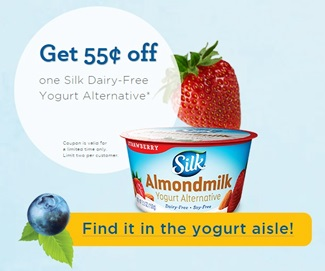 Silk Yogurt Coupon - so you can make this Dairy-Free Yogurt Cheese Recipe!