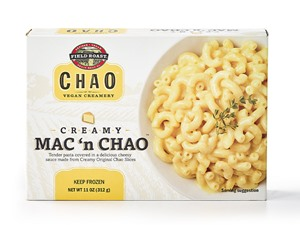 Field Roast Mac 'n Chao (Reviews and Information) - Vegan, Dairy-Free Mac and Cheese Freezer Meals