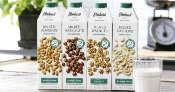 Elmhurst Milked Nuts Reviews and Info - Dairy-Free, Vegan, Simple, From-Scratch Cashew, Almond, Hazelnut, and Walnut Milks