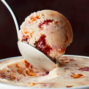 Haagen Dazs Non-Dairy Ice Cream Pints Reviews and Information - all vegan and so decadent. Pictured: Amaretto Black Cherry Toffee
