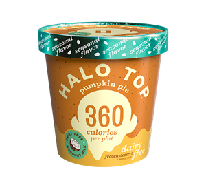 Halo Top Dairy-Free Frozen Dessert - vegan, soy-free and many gluten-free ice cream pint flavors that are low calorie, low sugar, and high protein