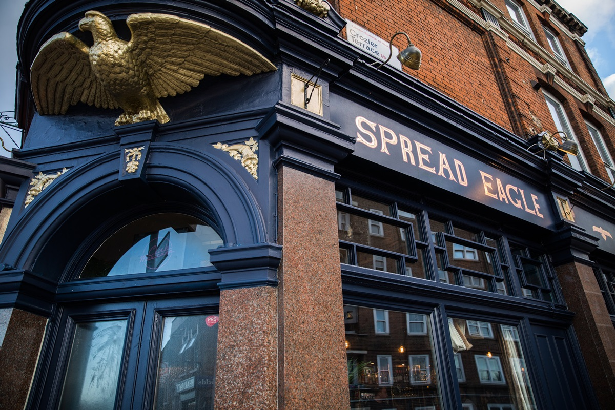 The Spread Eagle in Homerton is London's First All-Vegan Pub