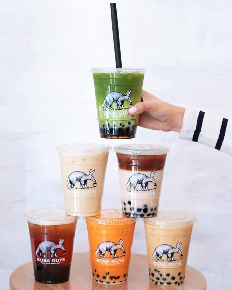 Boba Guys offers premium bubble tea in NYC and San Francisco with many delicious dairy-free options!