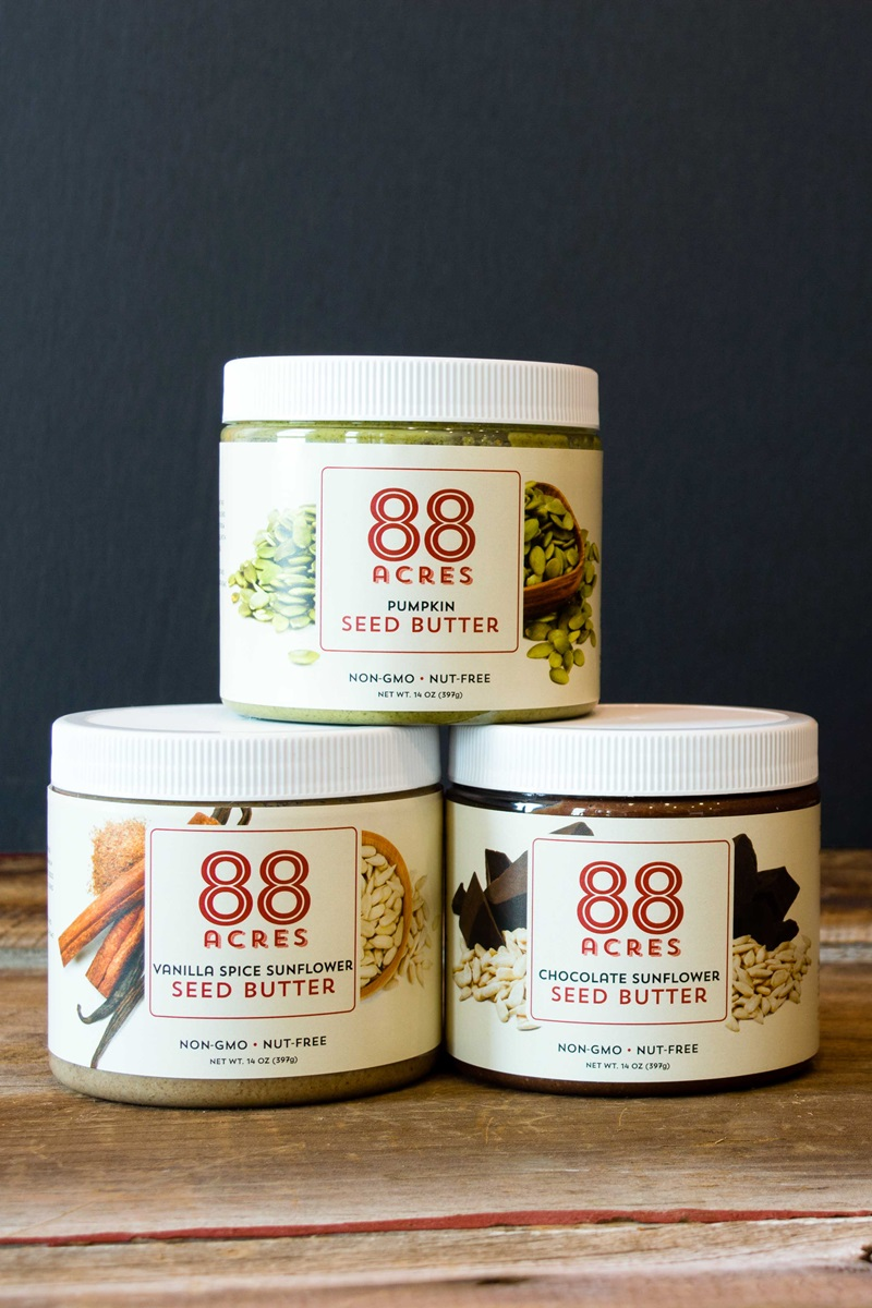 88 Acres Seed Butters - vegan, gluten-free, top allergen-free