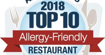 Allergy Eats Top Ten Allergy-Friendly Restaurant Chains for 2018