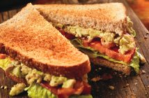 Chipotle BLT Sandwich Recipe with Avocado (easy, dairy-free, delicious! Vegan and gluten-free options) #blt
