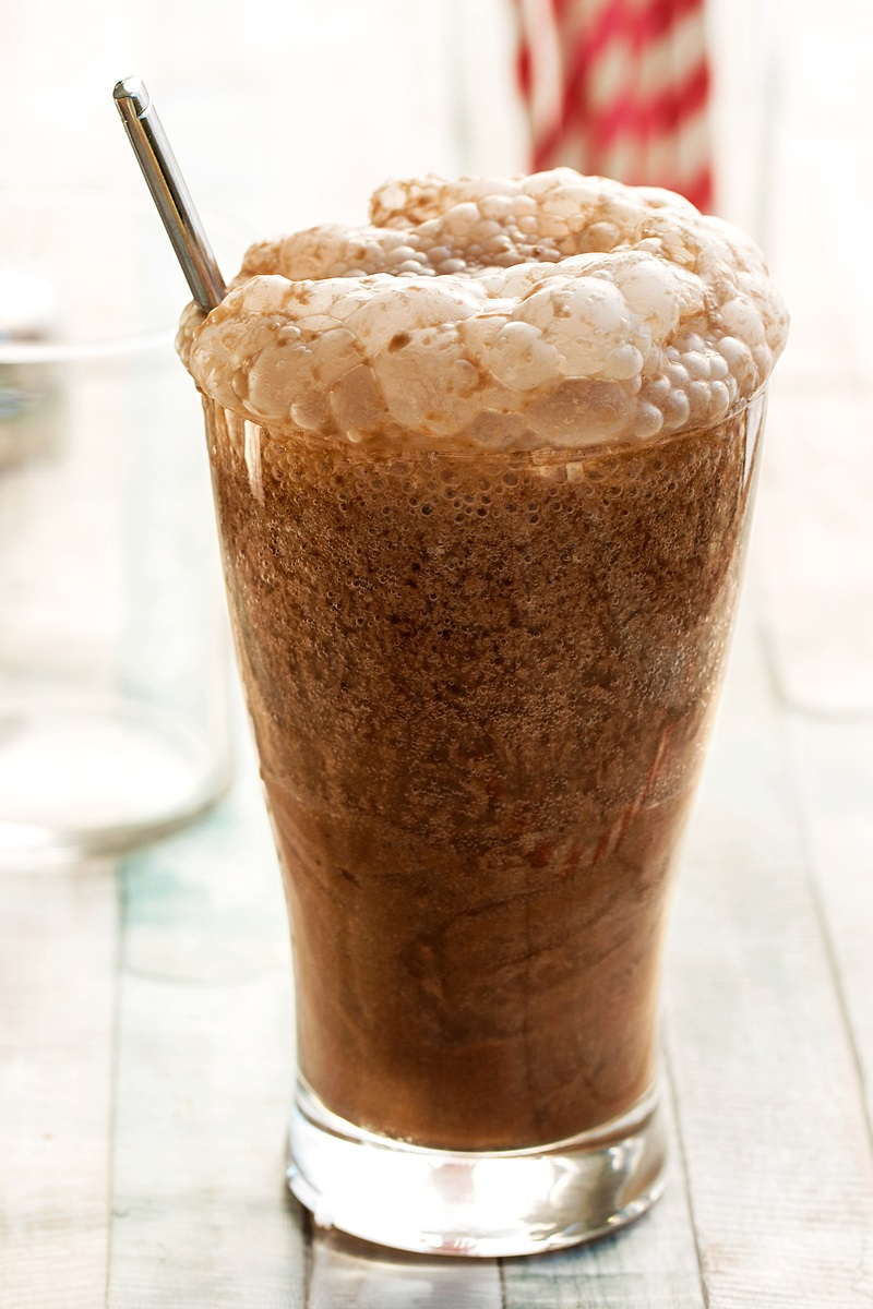 Chocolate Egg Cream Recipe - A classic creamy soda drink made vegan and allergy-friendly