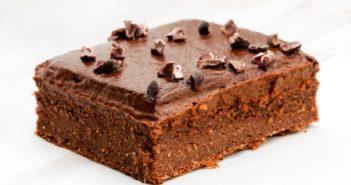 Healthy Blender Brownies with Chocolate Avocado Frosting - a sample Vegan Recipe from The Veginner's Cookbook #vegan #glutenfree