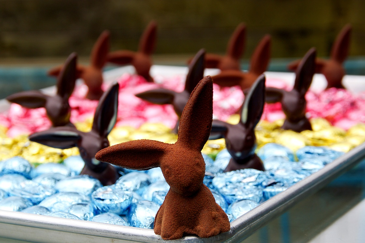 The Dairy-Free Chocolate Easter Bunny (and More!) Round-Up - includes Dairy-Free Chocolate Easter Eggs - Vegan, gluten-free, and allergy-friendly options too!
