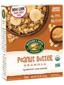 Nature's Path Granola Reviews and Info - Classic Varieties, Certified Organic, Dairy-Free, and available in a Dozen Flavors