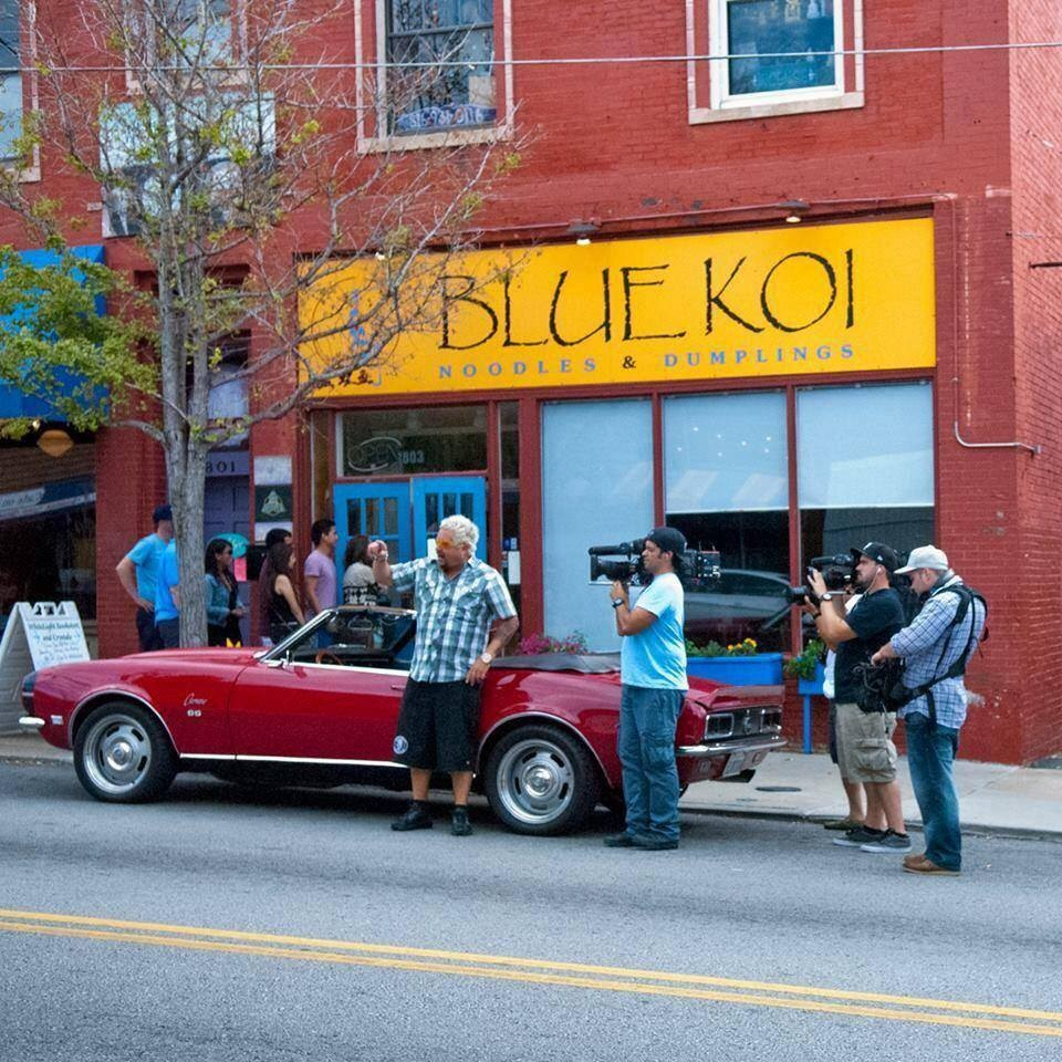 Blue Koi Noodles Around with Vegan Dumplings in Kansas City and Leawood. Popular Chinese comfort food with tons of dairy-free, vegan, and gluten-free menu options.