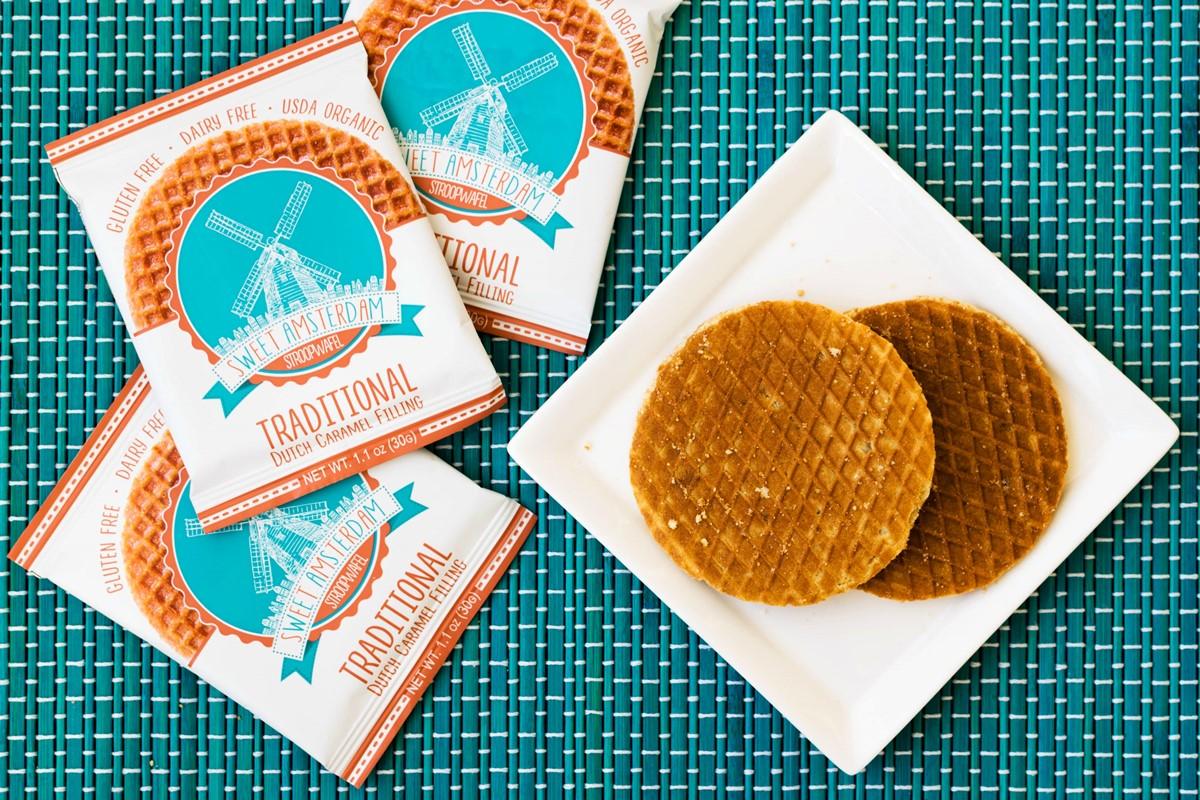sweet amsterdam stroopwafels review free of dairy  gluten