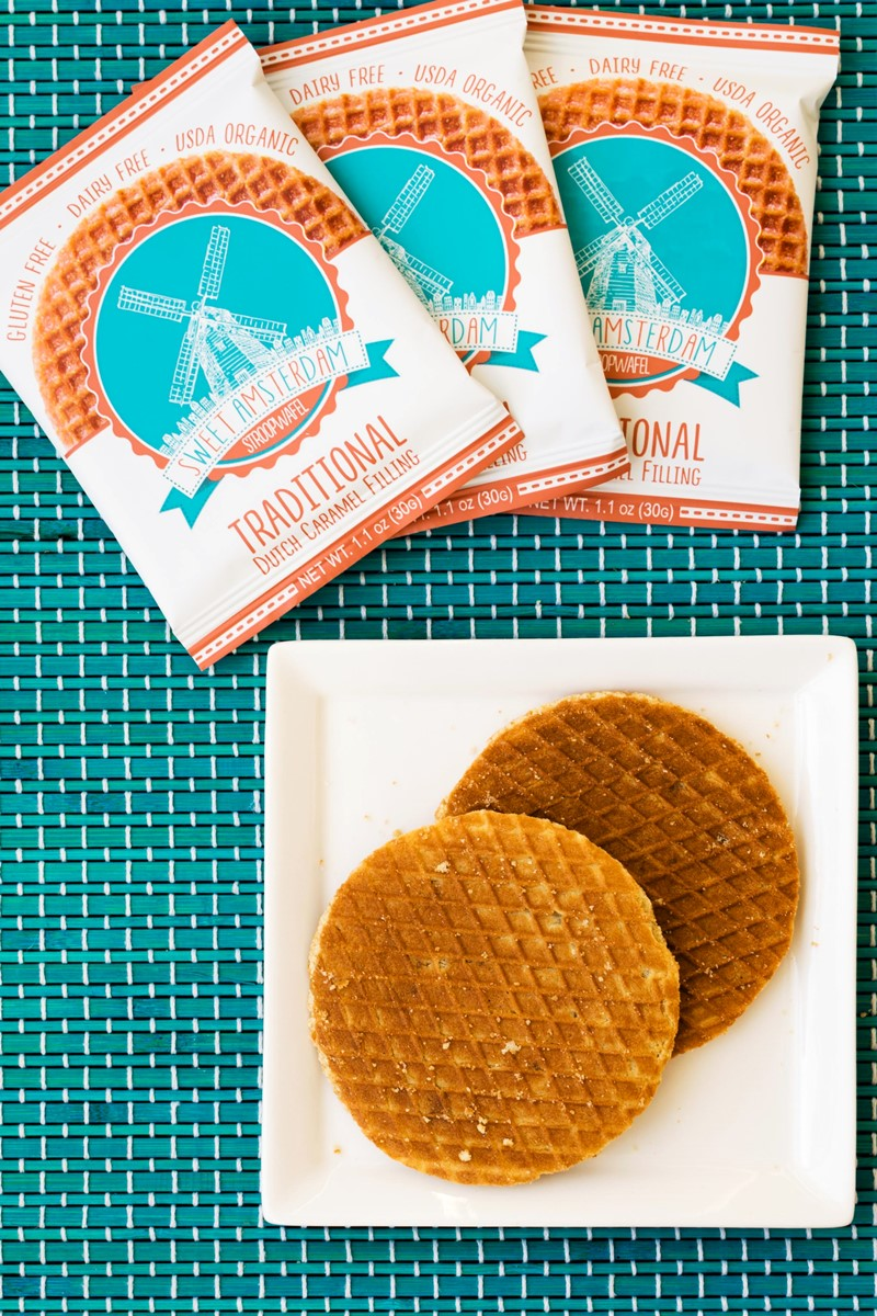 Sweet Amsterdam Stroopwafels (Review with Ingredients and more) - Gluten-Free, Dairy-Free, Organic