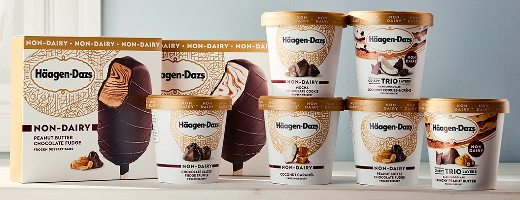 Häagen-Dazs Expands Non-Dairy Line with Four New Vegan Ice Cream Bars and Pints