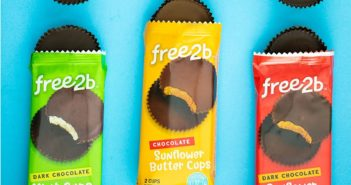 Free2B Chocolate Cups Reviews and Info - Top allergen-free peanut butter cup alternatives - sun butter cups and mint cups. Reviews and Info!