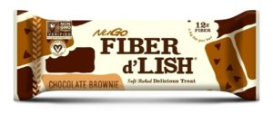 Nugo Fiber d'Lish Bars (formerly gnu bars) - dairy-free and vegan varieties, reviews and info