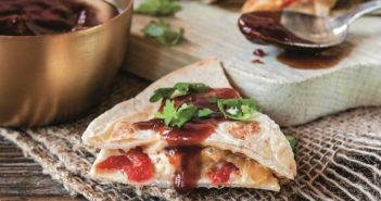 Kentucky Bourbon BBQ Quesadillas