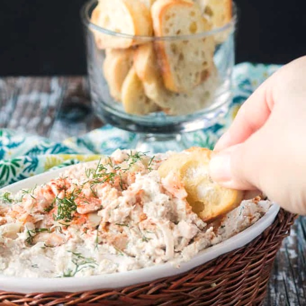 Jacked Up Crab Dip Recipe from the cookbook Great Vegan BBQ Without a Grill