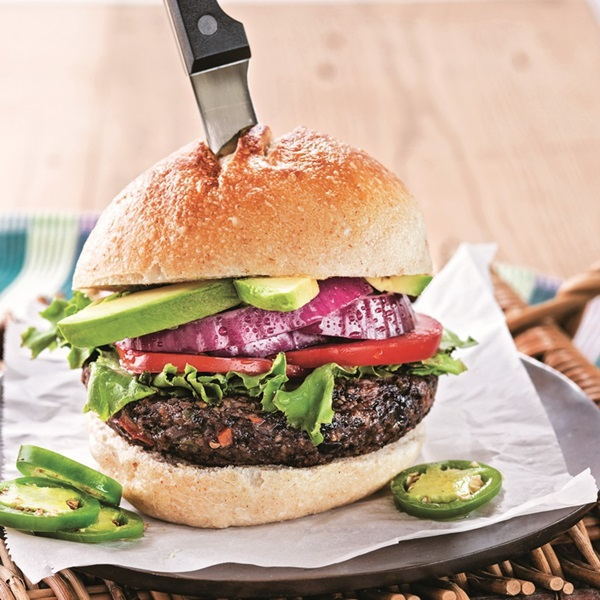 Take Me to Texas Southwestern Burgers Recipe from Great Vegan BBQ Without a Grill