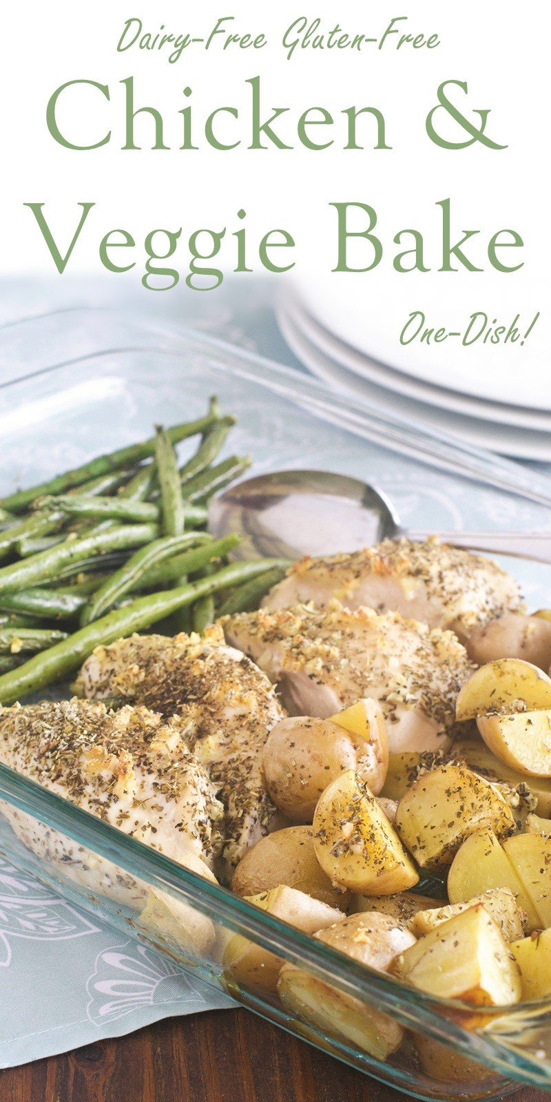 Easy One-Dish Chicken and Veggie Bake