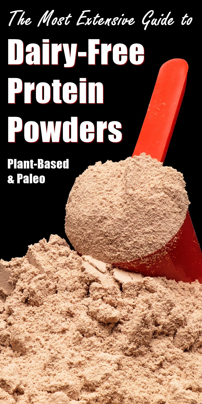 Dairy-Free Protein Powders Guide - The Most Extensive Resource from Go Dairy Free with Plant-Based and Paleo Options