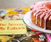 The Seven Silly Eaters Cake with Pink Lemonade Icing
