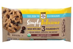 Nestle Tollhouse Simply Delicious Morsels in Dairy-Free Dark, Semi-Sweet, and White Chocolate (Top Allergen-Free) - Review and Information