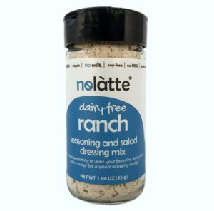 Nolatte Dairy-Free Seasoning Mixes in Ranch and Sour Cream & Onion