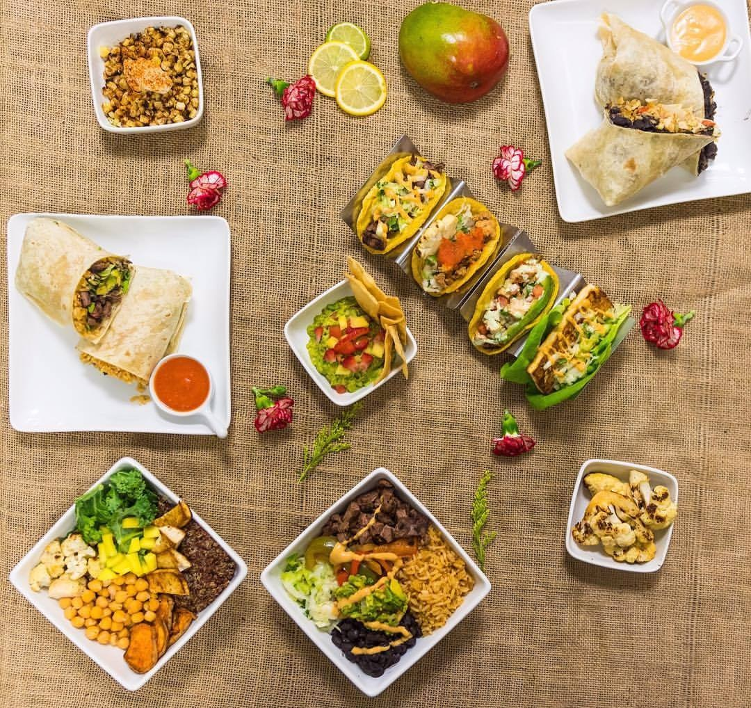 5 Elementos of West Hollywood, CA Dishes Organic Vegan Mexican Cuisine