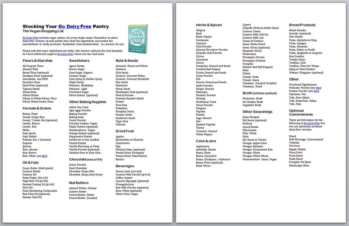 This is a graphic of Crafty Gluten Free Grocery List Printable