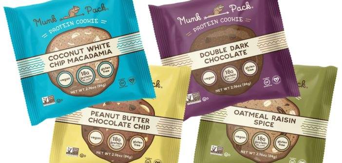 Munk Pack Protein Cookies are Vegan Gluten-Free Treats to Squirrel Away