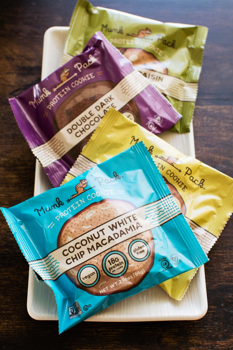 Munk Pack Protein Cookies Review (with ingredients, availability, tasting notes and more) - Vegan, Gluten-Free Jumbo Treats!