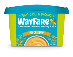 Wayfare Cheese Alternative: Cheddar Dips and Spreads - dairy-free, vegan, allergy-friendly (Review)