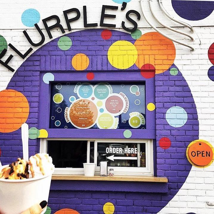 Flurples is a Tiny Vegan Ice Cream Shop in Sudbury, Ontario