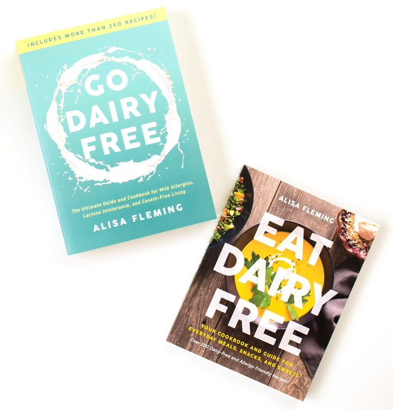 Dairy-Free Books - Guide and Cookbooks from the best-selling dairy-free author, Alisa Fleming