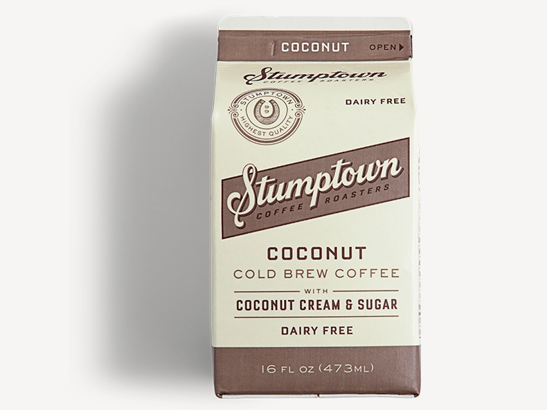 15 Cool, Creamy Dairy-Free Coffee Drinks for on the Go (Stumptown pictured)