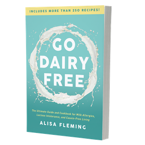 Go Dairy Free 2nd Edition - the best-selling guide and cookbook available in print and ebook formats